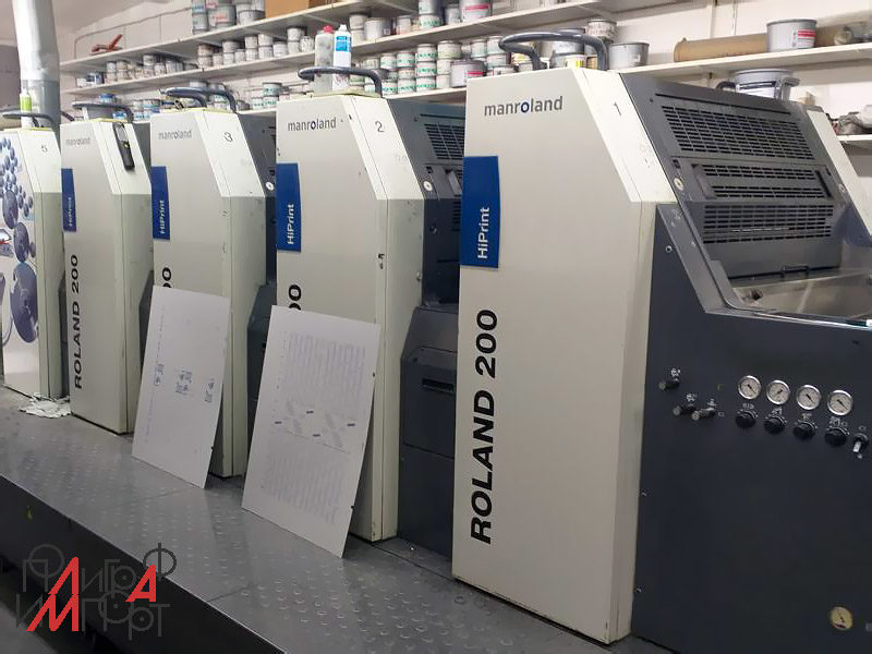 Roland 205 HiPrint InlineCoater smart (2008 год)
